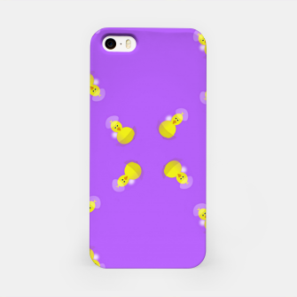 Thumbnail image of Yellow chicks on purple iPhone Case, Live Heroes