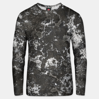 Thumbnail image of Dark Marble Camouflage Texture Print Unisex sweater, Live Heroes