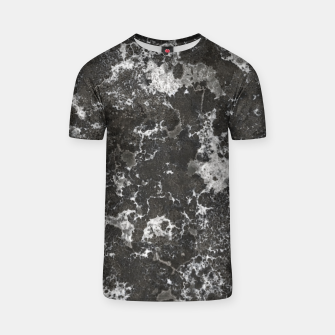 Thumbnail image of Dark Marble Camouflage Texture Print T-shirt, Live Heroes