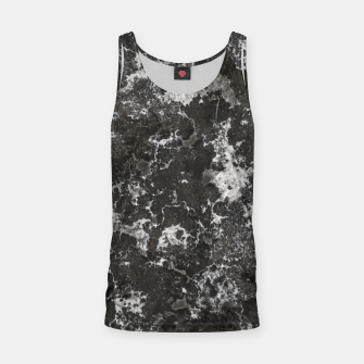 Thumbnail image of Dark Marble Camouflage Texture Print Tank Top, Live Heroes
