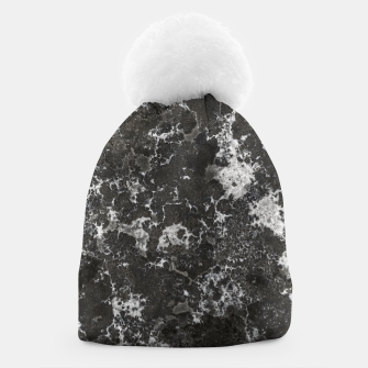Thumbnail image of Dark Marble Camouflage Texture Print Beanie, Live Heroes