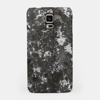 Thumbnail image of Dark Marble Camouflage Texture Print Samsung Case, Live Heroes