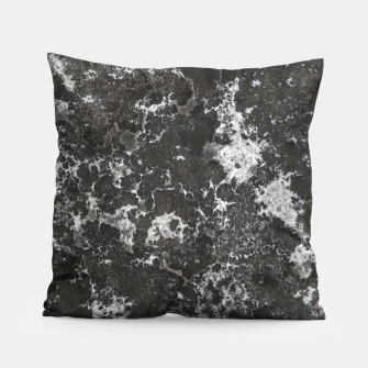 Thumbnail image of Dark Marble Camouflage Texture Print Pillow, Live Heroes