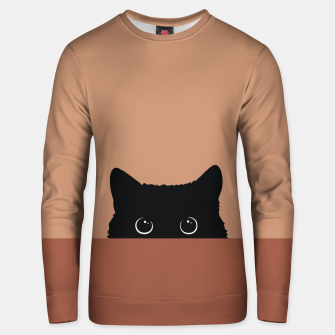 Thumbnail image of Black Cat Unisex sweater, Live Heroes