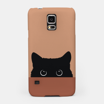 Thumbnail image of Black Cat Samsung Case, Live Heroes