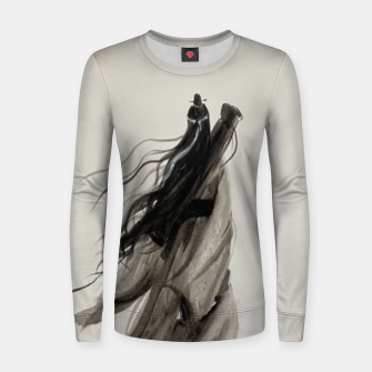 Miniatur Asking the spirit for thirteen years and waiting for no return Women sweater, Live Heroes