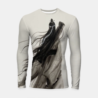 Thumbnail image of Asking the spirit for thirteen years and waiting for no return Longsleeve rashguard , Live Heroes
