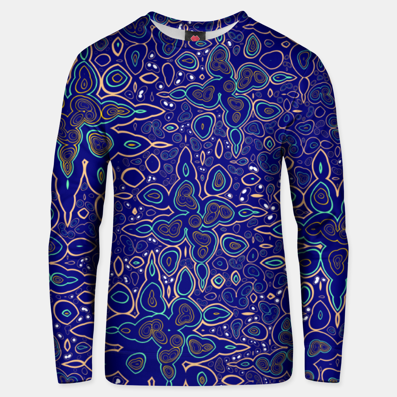 Image of Millions and billions of stars, abstract starry night sky Unisex sweater - Live Heroes