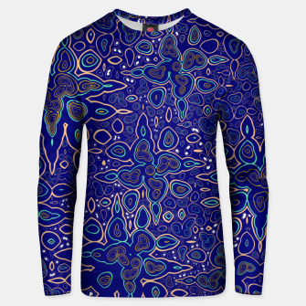 Thumbnail image of Millions and billions of stars, abstract starry night sky Unisex sweater, Live Heroes