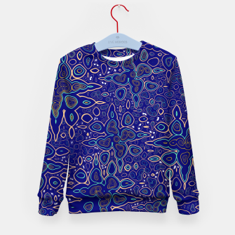 Thumbnail image of Millions and billions of stars, abstract starry night sky Kid's sweater, Live Heroes