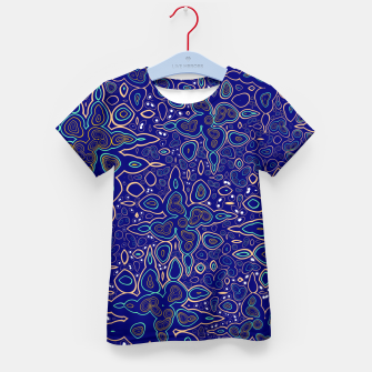 Thumbnail image of Millions and billions of stars, abstract starry night sky Kid's t-shirt, Live Heroes