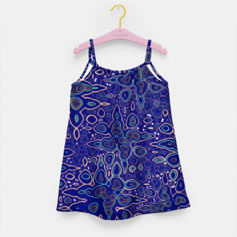 Thumbnail image of Millions and billions of stars, abstract starry night sky Girl's dress, Live Heroes