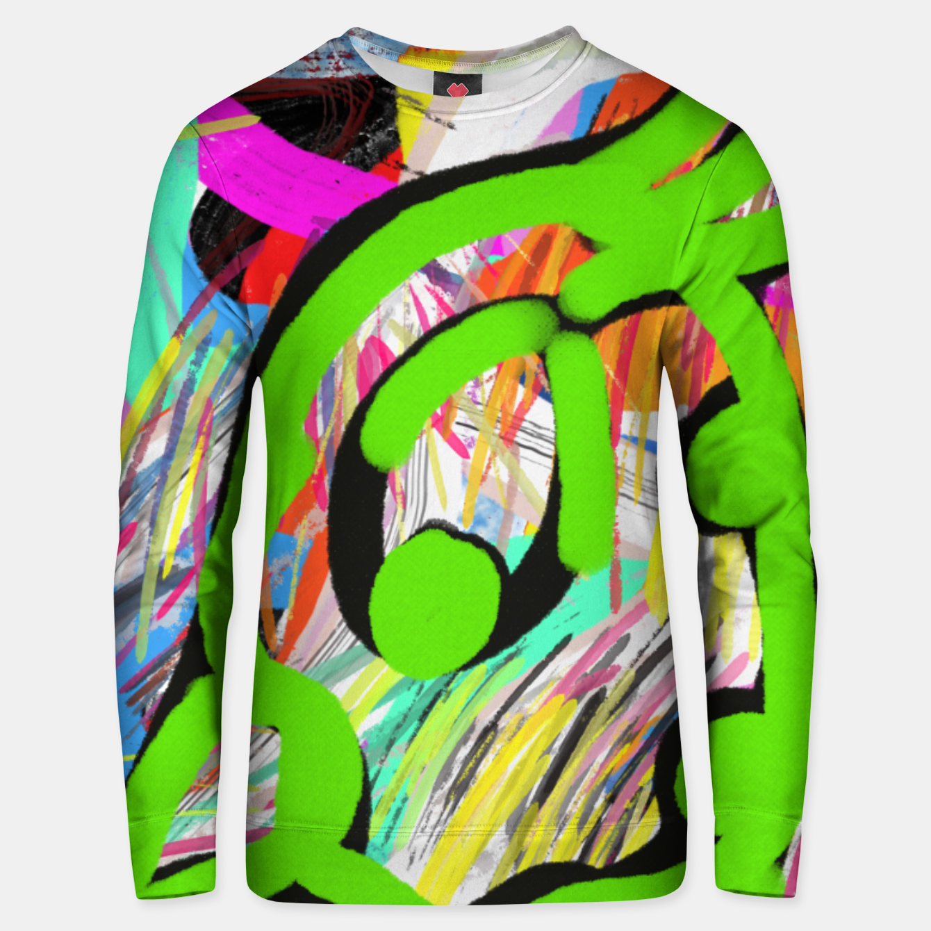 Image of Green Peacock  Bluza unisex - Live Heroes