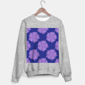 Thumbnail image of Pink floral on blue Sweater regular, Live Heroes