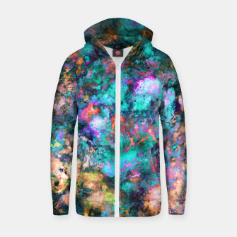 Thumbnail image of From a single flower Zip up hoodie, Live Heroes