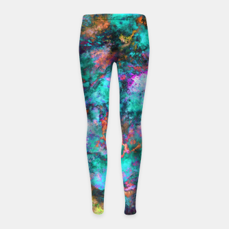 Thumbnail image of From a single flower Girl's leggings, Live Heroes