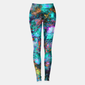 Thumbnail image of From a single flower Leggings, Live Heroes