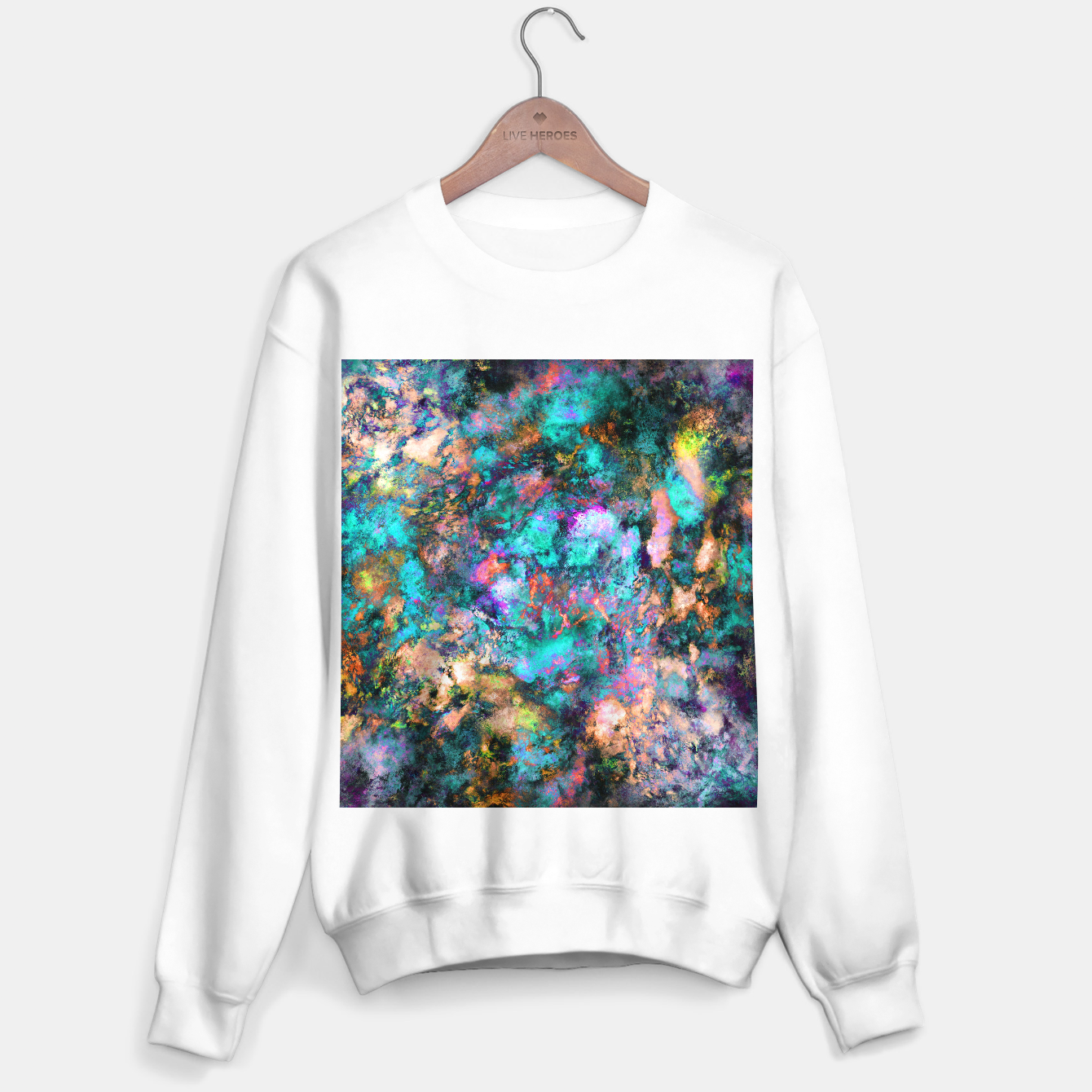 Image of From a single flower Sweater regular - Live Heroes
