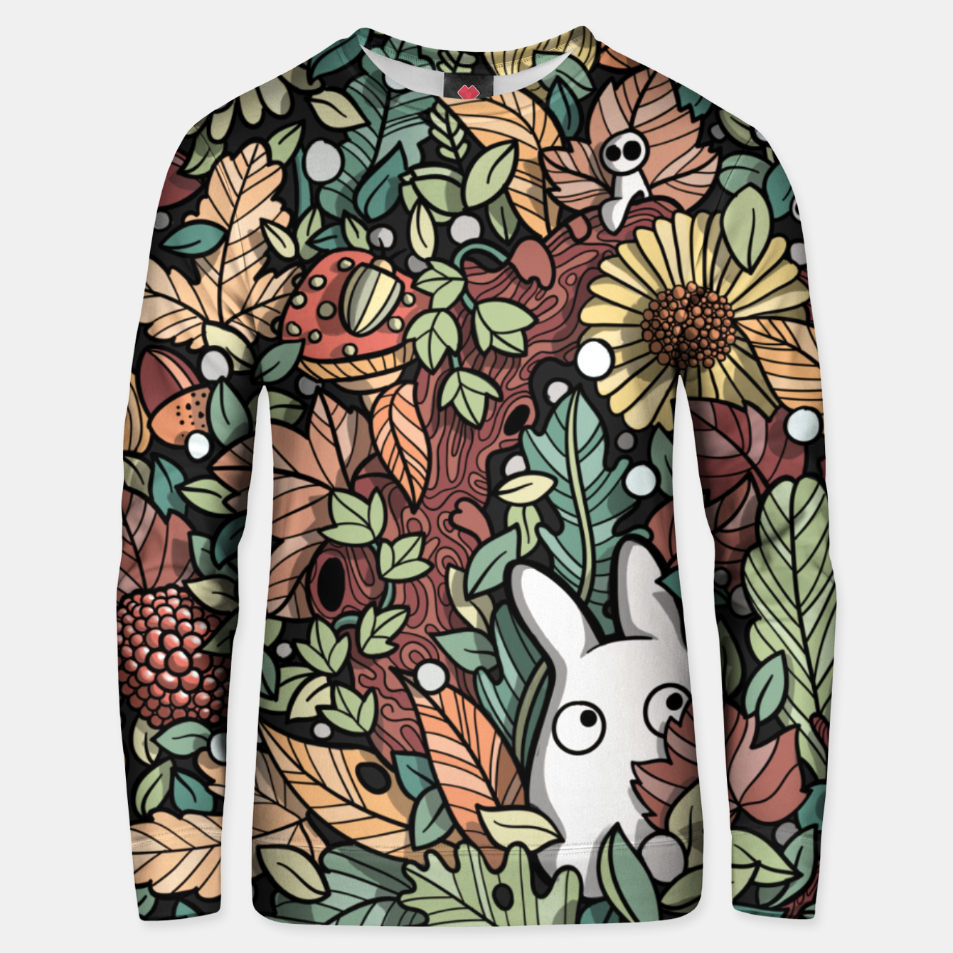 Image of Chibi leaves Unisex sweater - Live Heroes