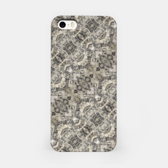 Thumbnail image of Brown Vintage Geometric Pattern iPhone Case, Live Heroes