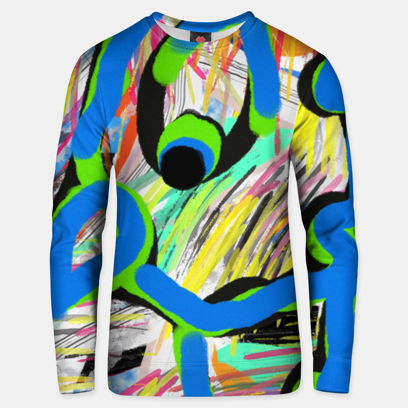 Image of Peacock blue Bluza unisex - Live Heroes