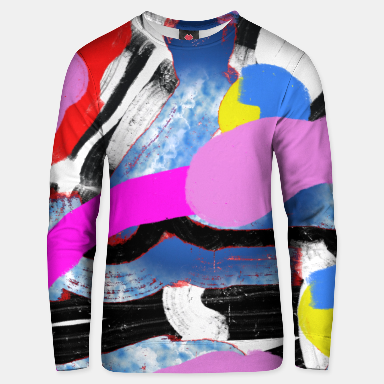 Image of Abstract Bluza unisex - Live Heroes