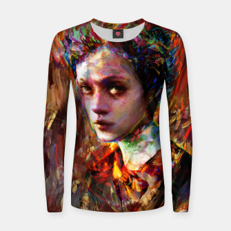 Thumbnail image of autumn mood Women sweater, Live Heroes