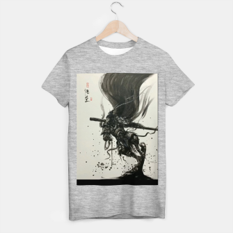Thumbnail image of Fight against Buddha T-shirt regular, Live Heroes