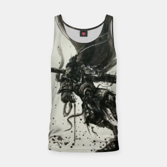 Thumbnail image of Fight against Buddha Tank Top, Live Heroes