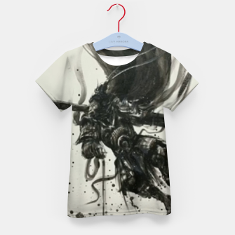 Thumbnail image of Fight against Buddha Kid's t-shirt, Live Heroes
