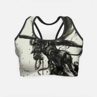 Thumbnail image of Fight against Buddha Crop Top, Live Heroes