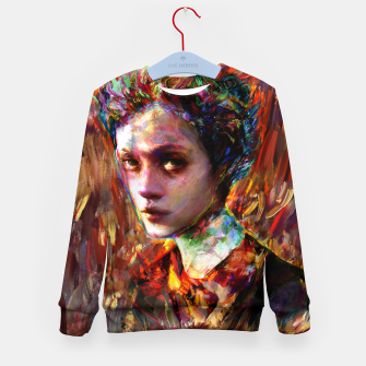 Thumbnail image of autumn mood Kid's sweater, Live Heroes