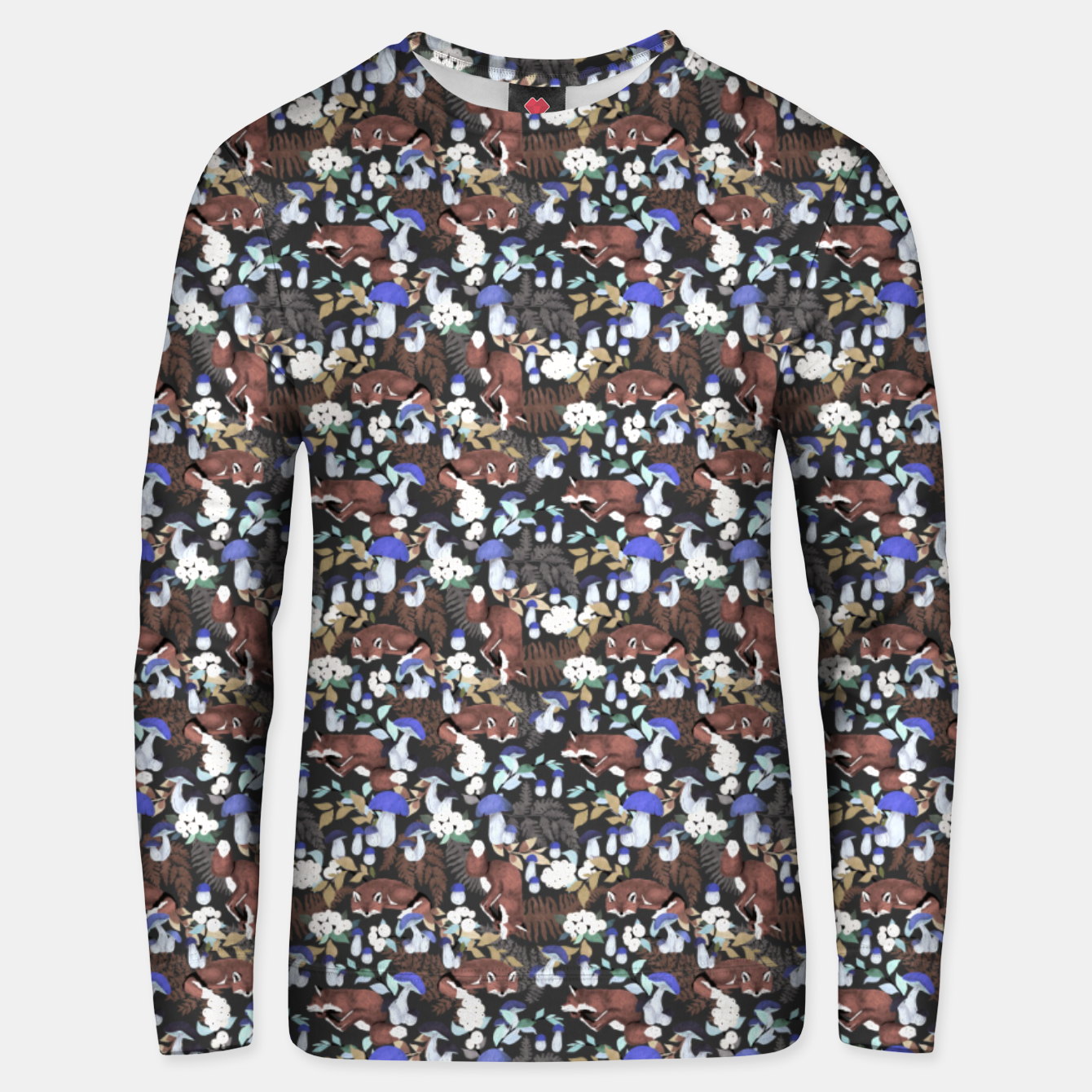 Image of Foxes in the dark forest 85D Sudadera unisex - Live Heroes