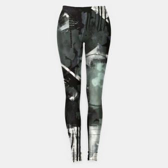 Miniatur Chaotic  Day Leggings, Live Heroes
