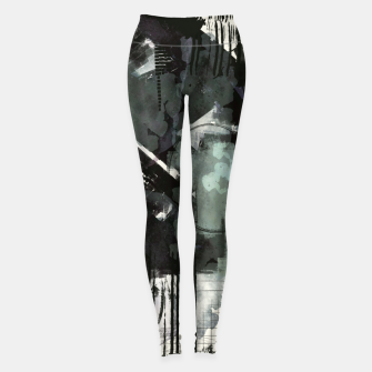 Thumbnail image of Chaotic  Day Leggings, Live Heroes