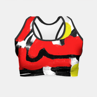 Thumbnail image of Red cherry Crop Top, Live Heroes