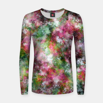 Thumbnail image of Scented flowers Women sweater, Live Heroes