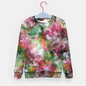 Thumbnail image of Scented flowers Kid's sweater, Live Heroes