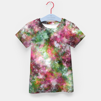 Thumbnail image of Scented flowers Kid's t-shirt, Live Heroes