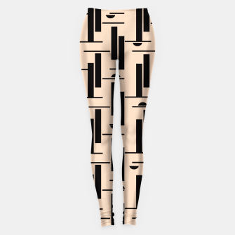 Thumbnail image of Midnight Abstract Leggings, Live Heroes