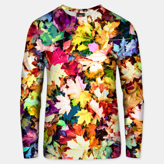 Thumbnail image of Colorful autumn Unisex sweater, Live Heroes