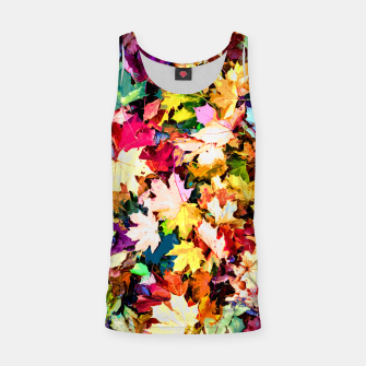 Thumbnail image of Colorful autumn Tank Top, Live Heroes