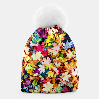 Thumbnail image of Colorful autumn Beanie, Live Heroes