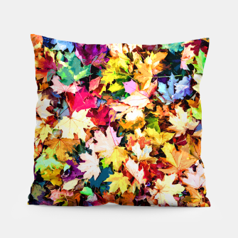 Thumbnail image of Colorful autumn Pillow, Live Heroes
