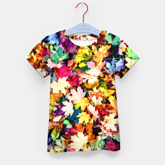 Thumbnail image of Colorful autumn Kid's t-shirt, Live Heroes