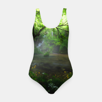 Miniature de image de Enchanted forest and waterfall Swimsuit, Live Heroes