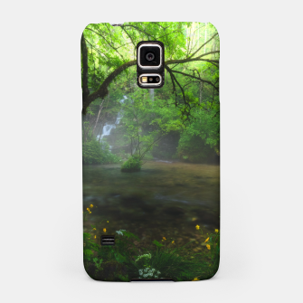 Miniaturka Enchanted forest and waterfall Samsung Case, Live Heroes