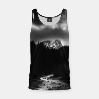 Thumbnail image of Dramatic landscape of mountains and river Tank Top, Live Heroes