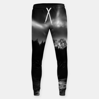 Miniaturka Dramatic landscape of mountains and river Sweatpants, Live Heroes