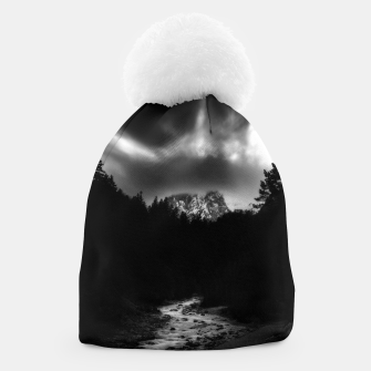 Thumbnail image of Dramatic landscape of mountains and river Beanie, Live Heroes
